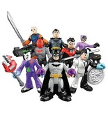 Imaginext DC Super Friends - Series 1 - Complete Set of 8 Mini Figures - DMY00 - $35.98