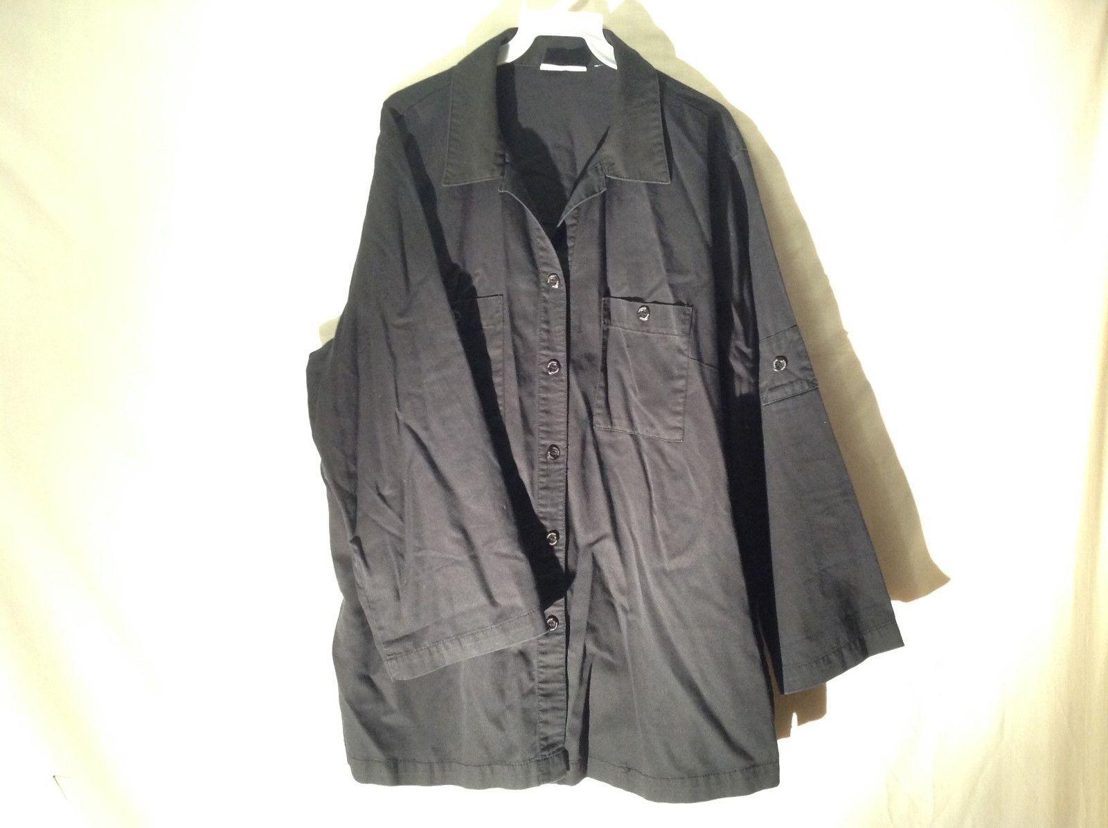 Valerie Stevens Ladies Casual Black Shirt