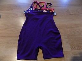 Size XS 4-5 Circo Deep Plum Purple Dance Gymnastics Unitard Leotard Pink... - $17.00