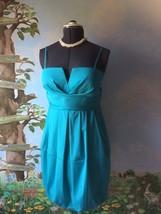 Donna Ricco Women's Blue Bubble Bottom Dress SZ 10 NWT - $53.46