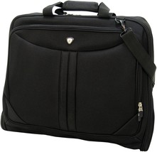 Olympia Vector Deluxe Garment Bag Carrier Suit Black or Gray Folding  44... - $55.99