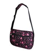 Large Messenger Sling Body Bag Backpack Black H... - $21.78