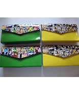 Magazine Clutch Trendy Ladies Envelope Purse Ha... - $25.99