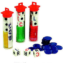 5 LCR Dice Games Free Shipping Less than $5.00 A  Game - $24.74