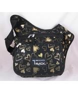 Medium Messenger Sling Body Bag Backpack Bag Bl... - $14.83