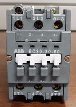 ABB BC30-30-00 3-Pole 24VDC Contactor - $44.54