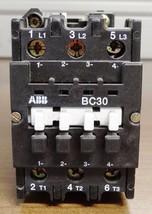 Abb BC30-*EX 3-Pole 24VDC Contactor - $44.54