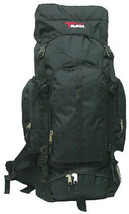 BLACK Extra Large Backpack Camping 4800 Cu In  BIG New Hike Hiking Scout... - $562,83 MXN