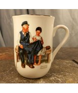 "Norman Rockwell Artist ""The Lighthouse Keepers Daughter"" Porcelain Coffe... - $4.35"