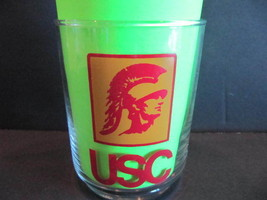 USC University of Southern California Trojans Tumblers Cocktail Glass Li... - $8.41