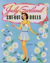 VINTAGE UNCUT 1941 JUDY GARLAND PAPER DOLLS~#1 REPRODUCTION~10 PAGES CLO... - $19.99