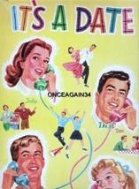 VINTAGE UNCUT IT'S A DATE PAPER DOLLS~#1 REPRODUCTION~16 PAGES CLOTHING~... - $21.99
