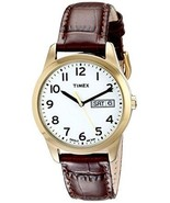 """Timex Men's T2N065 """"Elevated Classics"""" Watch South Street Sport Leather Band - $29.69"""