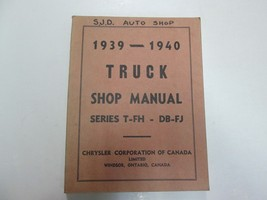 1939 1940 Chrysler Truck Series T FH DB FJ Shop Manual WRITING MINOR STA... - $69.28