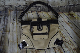 Guess Leather and Canvas Purse Handbag - $16.82