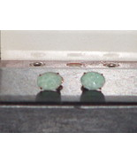 Pre Owned Vintage 1940's 10KT GF Amazonite Earr... - $148.50