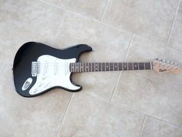 Fender Squier Vintage Black Strat Stratocaster ... - $139.99