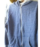 OLD NAVY L LARGE BLUE WHITE SPOTTED HOODIE - $20.30
