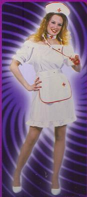 NURSE NIGHTINGALE COSTUME ONE SZ