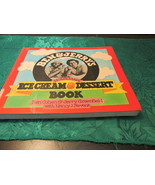 Ben And Jerry's Ice Cream And Dessert Book - $5.99