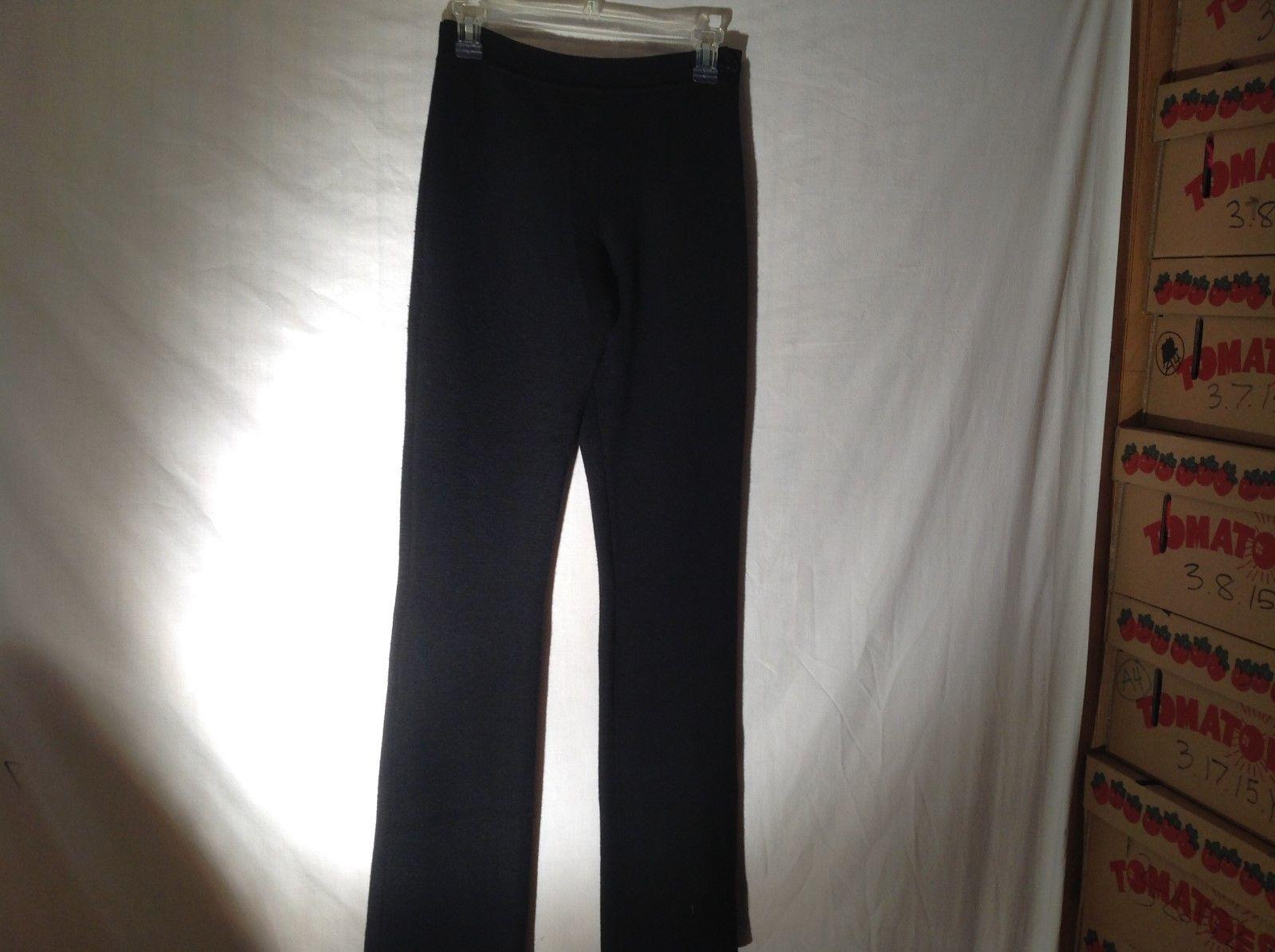 Quality Womens Black Stretchy Pants by Leoffler Randall