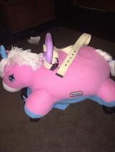 Little Tikes Pillow Racer Pink Unicorn Ride-On ... - $44.55