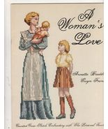 3 Books Cross Stitch Patterns A Woman's Love A ... - $9.99