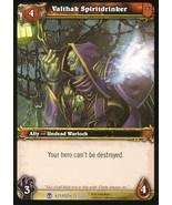 World of Warcraft: Heroes of Azeroth #263 - Valthak Spiritdrinker - $1.99