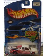 Hot Wheels 2002 Sweet Rides Chevy Pro Stock Truck 1/4 095 WHITE Baby Rut... - $1.50