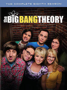 The Big Bang Theory: The Complete Eighth Season 8 (DVD) New TV Comedy Series