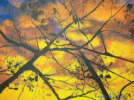 "ORIGINAL ACEO ""Sunset Landscape #6 "" Art Print ... - $5.94"