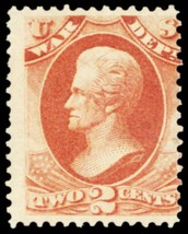 O84, Mint LH 2¢ War Department Official Stamp Cat $240.00 - Stuart Katz - $75.00