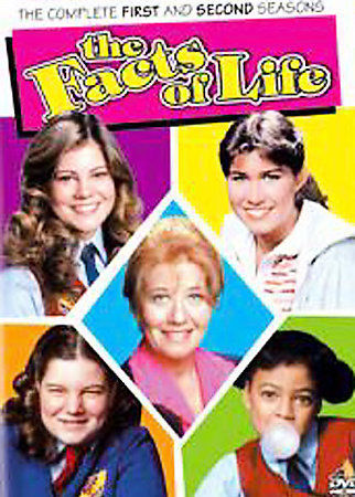 The Facts of Life Complete First & Second 1 & 2 Seasons (DVD SET) New TV Series