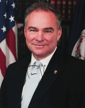 Tim Kaine Signed Autographed Glossy 11x14 Photo - COA Matching Holograms - $49.49