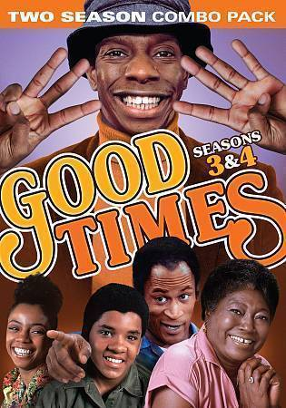Good Times: Complete Third & Fourth Seasons 3 4 (DVD,  4-Disc Set) New TV Series