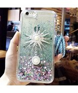 Liquid Case for Galaxy Note 8,Sangglass Liquid Floating Bling Glitter Dy... - $11.87