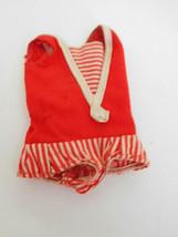 Vintage 1960's Skipper Red & White Swim Suit Barbie Sister - $8.99