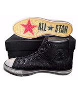 Converse X by John Varvatos Mini Studded Leather Hi Chuck Taylor BLACK 1... - $100.00