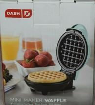 Dash Mini Maker The Mini Waffle Maker Machine for Individual Waffles Aqua - €7,69 EUR