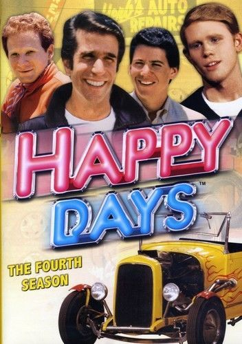 Happy Days: The Complete Fourth Season 4 (DVD Set) New TV Classic Comedy Series