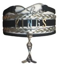 Los Angeles LA Kings Hockey Fan Shop Infinity Bracelet Jewelry - $12.99