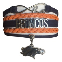Denver Broncos Football Fan Shop Infinity Bracelet Jewelry - $9.99
