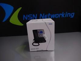 NEW SNOM 821 SIP VoiP Black 12-Line Color Display Gigabit Phone w/ Base Handset - $74.20