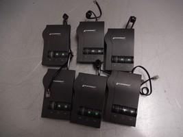 Lot of 6x Plantronics Vista M12 Headset Amplifiers w/ Pigtail Cables - $39.59