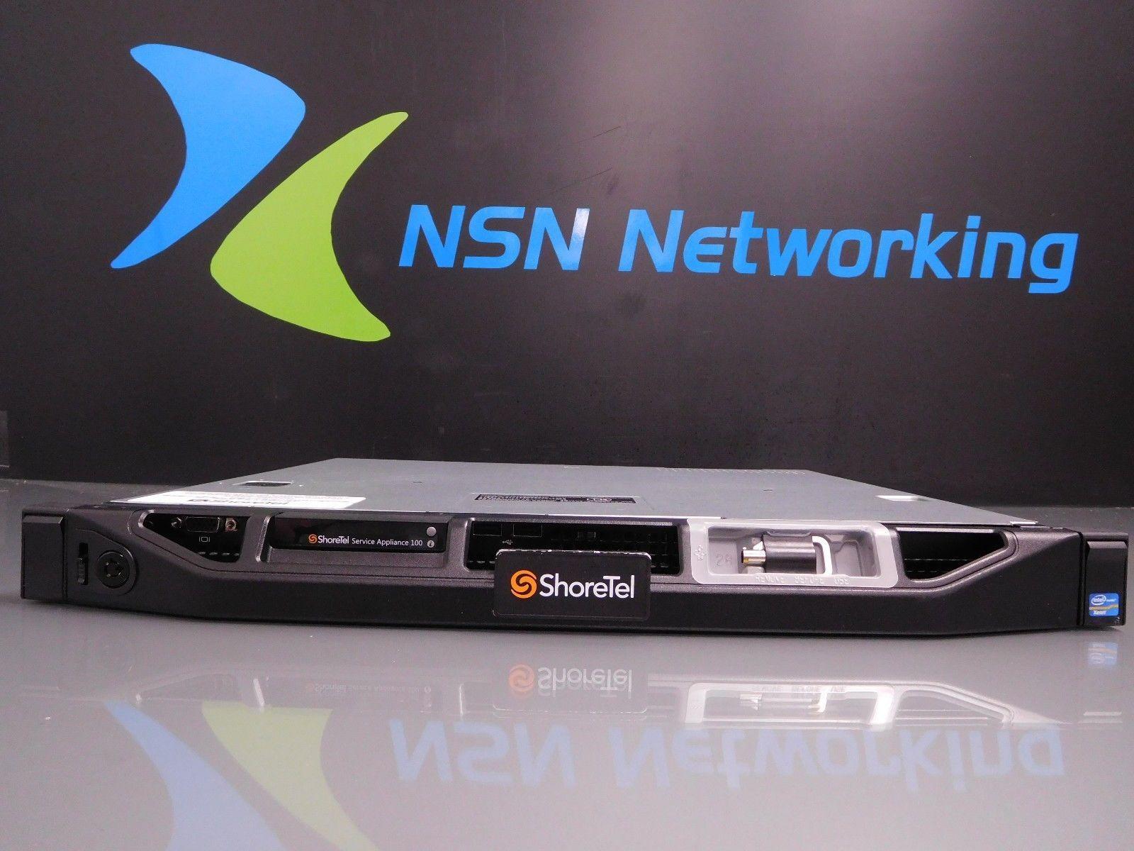 ShoreTel Server Appliance 100 Dell E10S 77FRW Server NO RAIL KITS INCLUDED