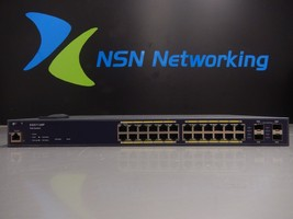EnGenius EGS7128P 24-Port Gigabit PoE Layer 2 Managed Switch w/4 Dual-Speed SFP - $346.49