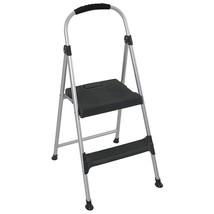 Folding 2 Step Steel Stepping Ladder Stool Lightweight Kitchen painting ... - $39.55