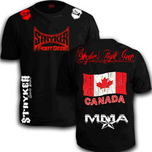 STRYKER CREST FLAG TAP MMA SHORTS SLEEVE T SHIRT TOP UFC OUT BJJ Canada ... - $18.45 - $23.13
