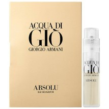 GIORGIO ARMANI GIO ABSOLU edp Trial Spray Vial - $6.75