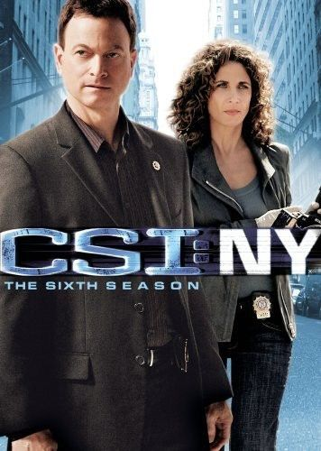 CSI: NY New York - The Complete Sixth Season 6 (DVD Set) TV Crime Series